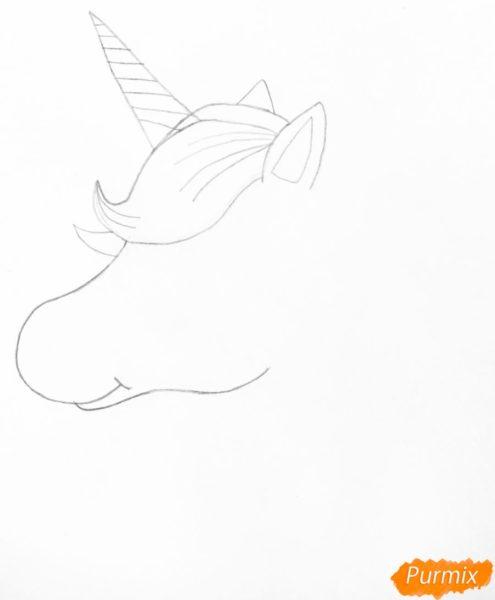 Рисунок единорога для срисовки поэтапно (30 фото)