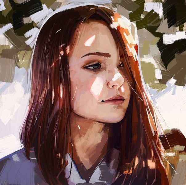Картинки арт девушек (63 фото)