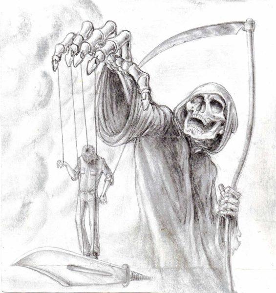 Страшные картинки для срисовки (89 фото)