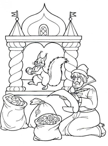 Картинки белка из сказки о царе Салтане (14 фото)