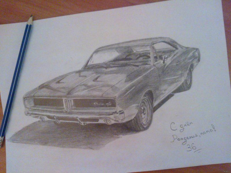 Рисунки для срисовки на день рождения папе (15 фото)