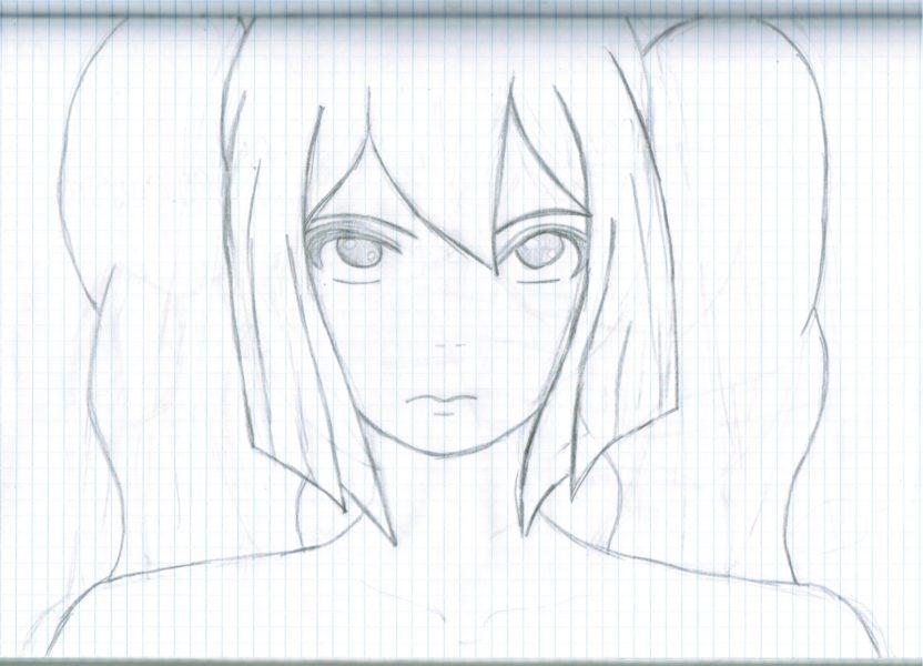 Аниме для срисовки для начинающих (36 фото)