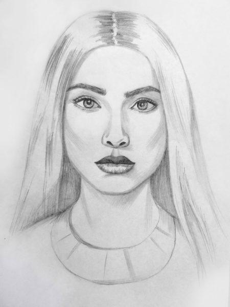 Самые простые рисунки для срисовки карандашом (34 фото)