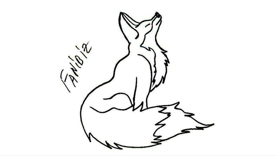 Рисунки карандашом для детей лиса (28 фото)