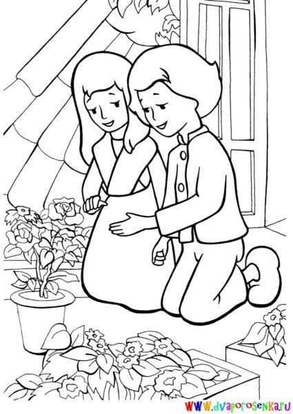 Рисунки карандашом Снежная Королева (62 фото)