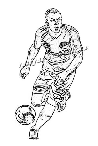 Рисунки для срисовки футбол (15 фото)