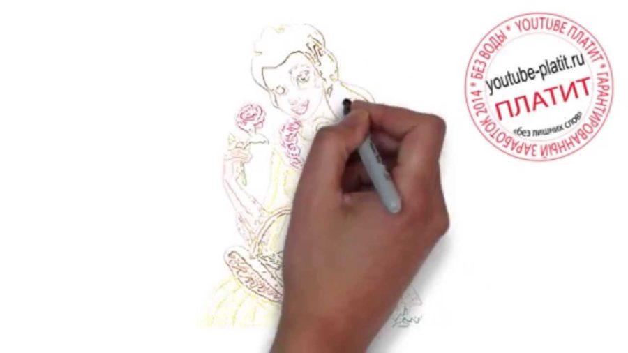 Рисунки карандашом «Спящая красавица» (30 фото)