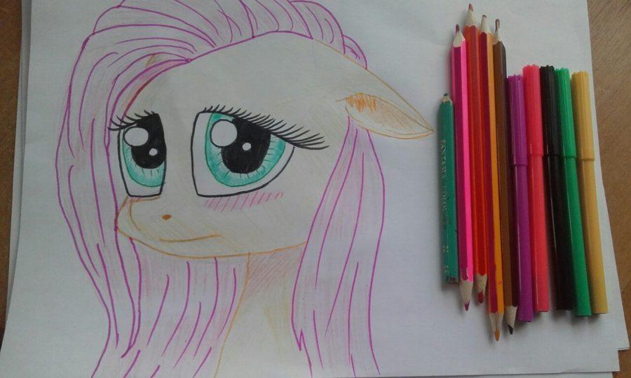 Рисунки поэтапно карандашом пони (28 фото)