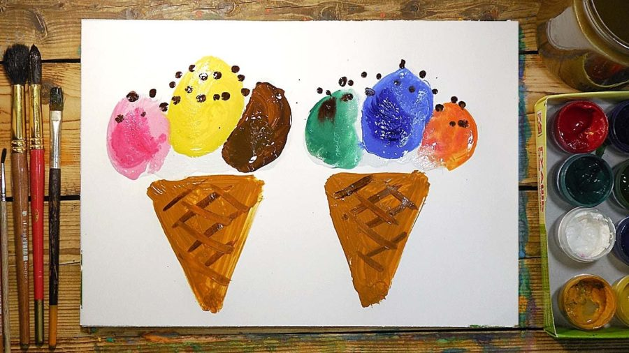 Рисунки для срисовки легкие и красивые красками (25 фото)