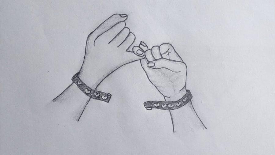 Рисунки про дружбу карандашом со смыслом (59 фото)