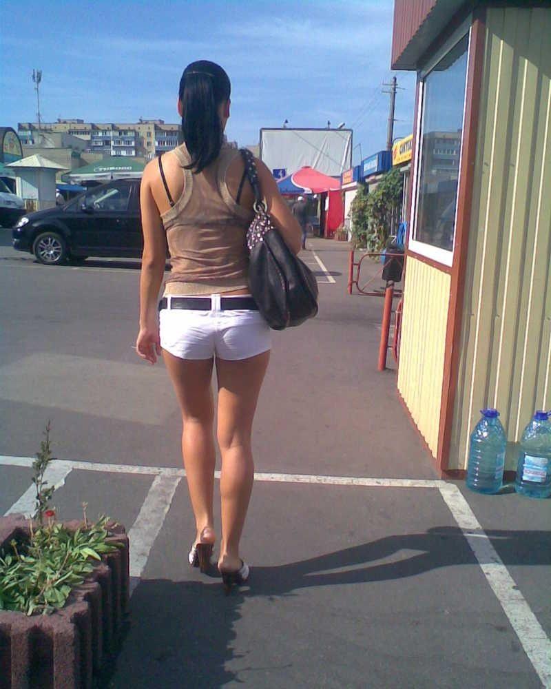 Фото девушек вид сзади (29 фото)