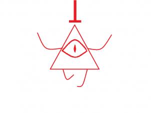 Рисунки для срисовки Билл Шифр (47 фото)