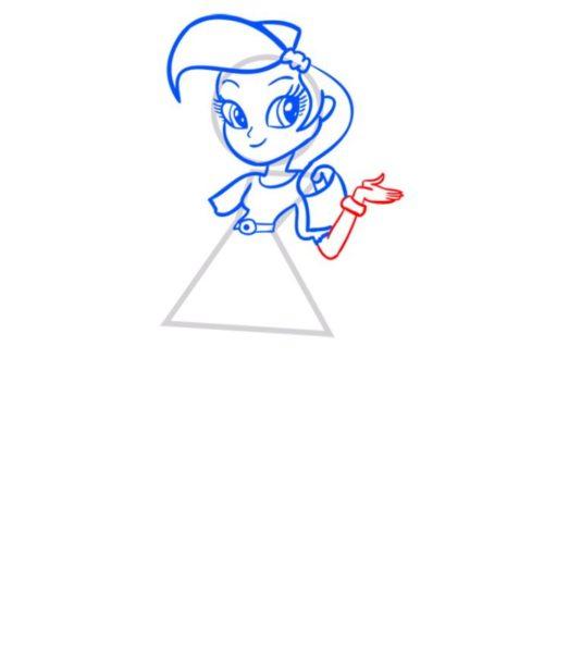 Рисунки для срисовки девочки из Эквестрии (61 фото)